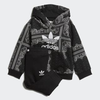 Комплект: брюки и худи Bandana black / white DW3844