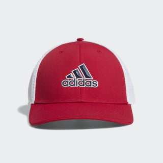 A-Stretch Tour Cap Bold Red / White DU6892