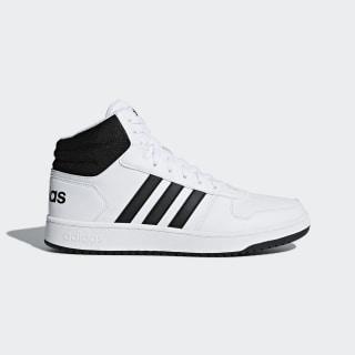 Hoops 2.0 Mid Shoes Cloud White / Core Black / Core Black BB7208