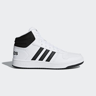 Hoops 2.0 Mid Shoes Cloud White / Core Black / Core Black BB7208
