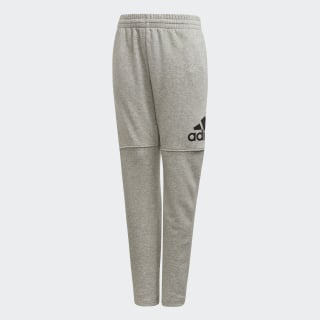 Calça Essentials Logo MEDIUM GREY HEATHER/BLACK CF6540