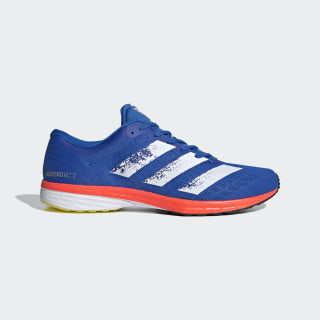 Adizero RC 2.0 Shoes Glow Blue / Core White / Solar Red EH3135