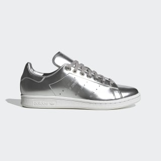 Stan Smith Ayakkabı Silver Metallic / Silver Metallic / Crystal White FW5477