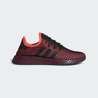 Deerupt Runner Shoes Solar Red / Core Black / Collegiate Burgundy EE5661