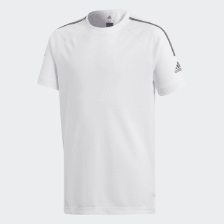 Training Cool Tee White / Black CE5789