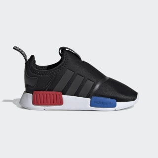 Кроссовки-слипоны NMD 360 Core Black / Core Black / Cloud White EE6355