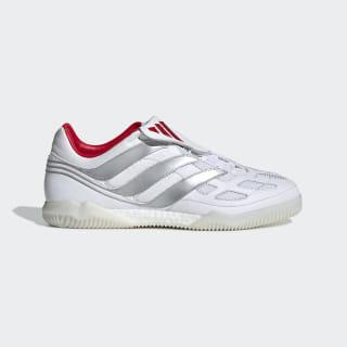 Футбольные кроссовки Predator Precision David Beckham ftwr white / silver met. / predator red F97224