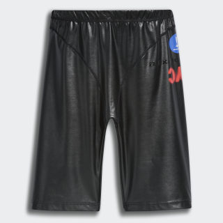 adidas Originals by AW Pleather Shorts Black FI6961