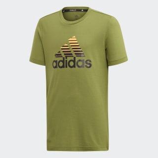 T-shirt Prime Tech Olive / Black / Flash Orange ED5752