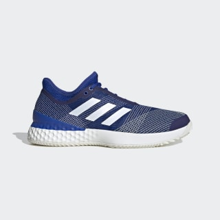 Sapatos Adizero Ubersonic 3.0 – Terra batida Team Royal Blue / Cloud White / Off White EH2872