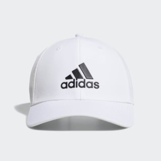 A-Stretch adidas Badge of Sport Tour Hat White DX0601