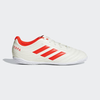 CHUTEIRA COPA 19 4 IN JR off white/solar red/ftwr white D98094