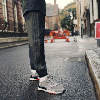 Nite Jogger Shoes Grey Two / Multi Solid Grey / Solar Orange DB3361