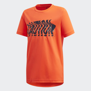 Camiseta Own the Run Solar Red / Collegiate Navy FM1703