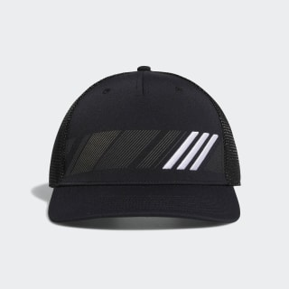 Casquette Stripe Trucker Black / White DT2196