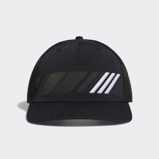 Stripe Trucker Hat Black / White DT2196