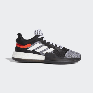 Chaussure Marquee Boost Low Core Black / Cloud White / Solar Red D96931