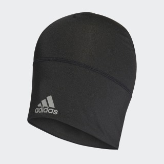 AEROREADY Beanie Black / Reflective Silver / White FM0198
