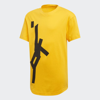 Sport ID Graphic Tee Active Gold ED6430