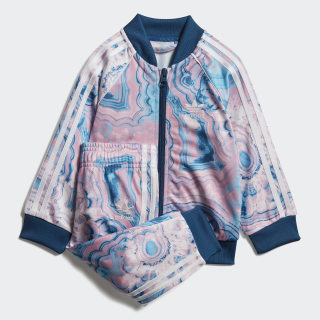 Marble SST Track Suit Multicolor / Legend Marine / White DV2322