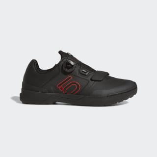 Five Ten Kestrel Pro Boa Mountain Bike Shoes Core Black / Red / Grey Six BC0635