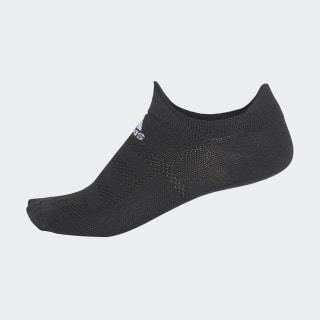 Alphaskin Hafif Görünmez Çorap Black / White CG2678