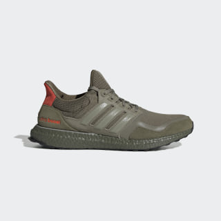Chaussure Ultraboost S&L Raw Khaki / Trace Cargo / Solar Red EF1978