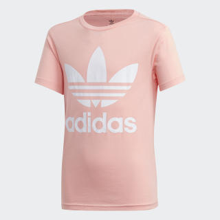 Trefoil T-Shirt Glory Pink / White FM5661