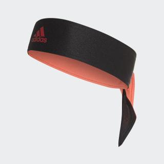 Tennis Stirnband Black / Reflective Silver / Flash Red DJ0924