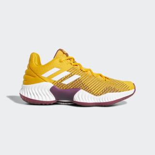 Pro Bounce 2018 Low Shoes Collegiate Gold / Cloud White / Maroon B41866