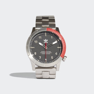 CYPHER_M1 Watch Silver Metallic / Black / Scarlet CJ6313
