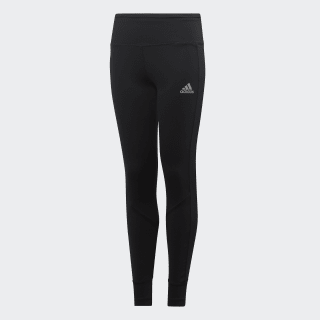 Run Tights Black / Reflective Silver ED6282