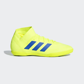 Calzado de Fútbol Nemeziz Tango 18.3 Bajo Techo Solar Yellow / Football Blue / Active Red BB9461