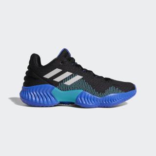 Pro Bounce 2018 Low Shoes Core Black / Light Solid Grey / Hi-Res Blue AC7427