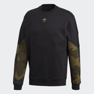 Camouflage Crew Sweatshirt Black / Multicolor FM3357