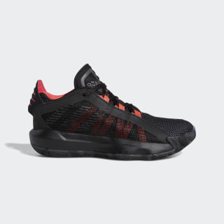 Dame 6 Shoes Core Black / Trace Grey Metallic / Shock Red EF9861