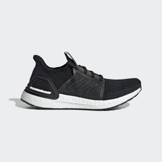 Ultraboost 19 Shoes Core Black / Grey / Solar Orange G54014