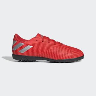 Calzado de Fútbol Nemeziz 19.4 Césped Artificial Active Red / Silver Metallic / Solar Red F99935