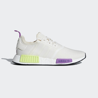 NMD_R1 Shoes Chalk White / Chalk White / Semi Solar Yellow D96626