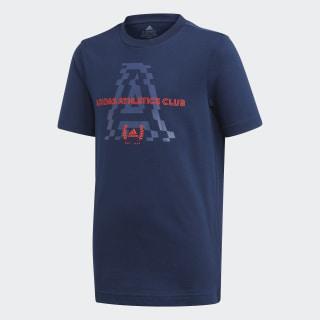 adidas Athletics Club Graphic T-shirt Collegiate Navy FM4495