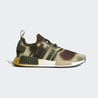 NMD_R1 Star Wars Schoenen Night Cargo / Brown / Gold Metallic FW2280