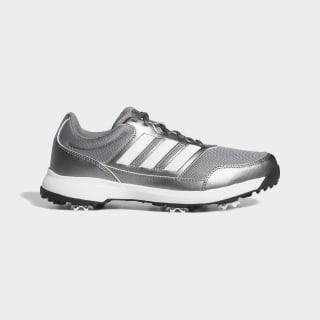 Scarpe da golf Tech Response 2.0 Iron Metallic / Cloud White / Scarlet EE9420