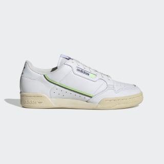 Sapatos Continental 80 Cloud White / Grey Four / Signal Green EF5992