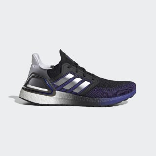 Ultraboost 20 Shoes Core Black / Silver Metallic / Cloud White FV0033