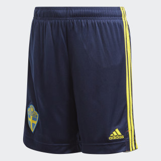 Zweden Thuisshort Night Indigo / Yellow FH7616