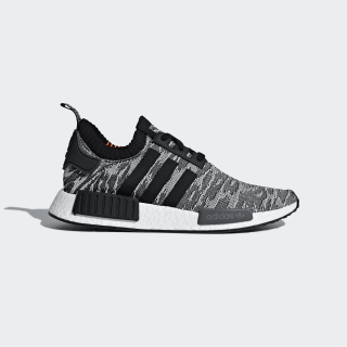 Chaussure NMD_R1 Primeknit Grey/Core Black/Solar Red CQ2444