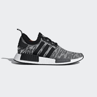 NMD_R1 Primeknit Shoes Grey/Core Black/Solar Red CQ2444