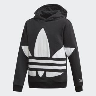 Sweat-shirt à capuche Big Trefoil Black / White FS1857