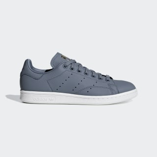 Tênis Stan Smith raw steel s18 / real lilac / raw gold s18 CG6016