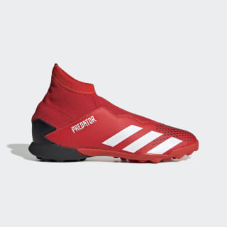 Predator 20.3 Turf Boots Active Red / Cloud White / Core Black EF1949